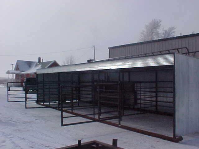 Calving Barn : Cliff's Welding Service, Inc.